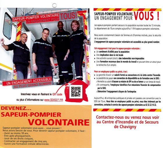 Devenez pompier volontaire !!! il y a urgence